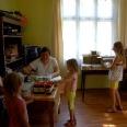 1/2 - Obiad i podwieczorek. Kolejne wydawanie żywności w Puławach
