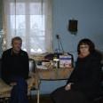 Pan Zbyszek i Monika Koperkiewicz, kierownik filii ChSCh w Opolu Lubelskim