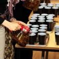 Goście chętnie częstowali się herbatką
