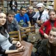 Spotkanie klubu ukraińskiej mowy, na które przybyli nasi tureccy wolontariusze.