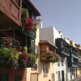 Tradycyjne balkony w Santa Cruz de La Palma. Ze wszystkich miast archipelagu, które widziałem, Santa Cruz de La Palma podobało mi się najbardziej.