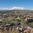 Panorama Tbilisi z twierdzy Narikala.