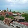 Widok na Sighnaghi, malownicze miasto w regionie Kakheti.