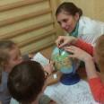 Zajęcia rewalidacyjne - szukamy Polski na globusie