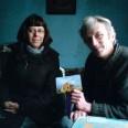 To było nasze wspólne marzenie. Na zdjęciu z lewej Monika Koperkiewicz, wolontariuszka ChSCh, z prawej pan Zbyszek.