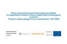 Wrocław: POPŻ 2014–2020 Podprogram 2016