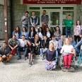 1/2 - Międzynarodowa wizyta młodzieży w liceum w Wiśle