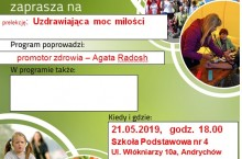 Wiadomości z Andrychowa: Uzdrawiająca moc miłości i zażyłości
