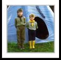 Obozy pod namiotami
